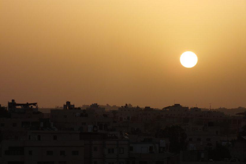 Morgenstimmung in Yatta, südliche Hebronberge