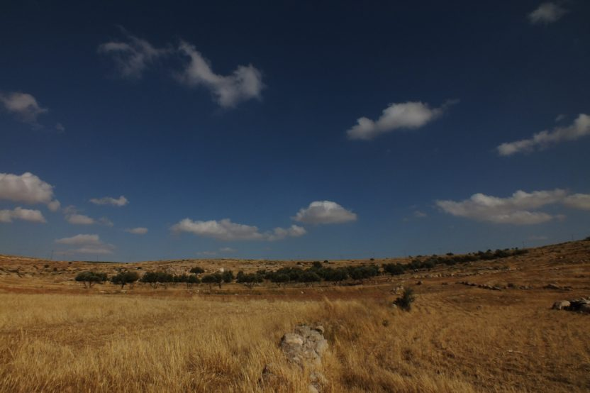 Susiya: An ruhigen Tagen lässt sich in dieser Landschaft träumen.