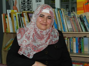 Samia Al-Jabary, Lehrerin in Hebron