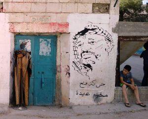 Langeweile im Aida Refugee Camp