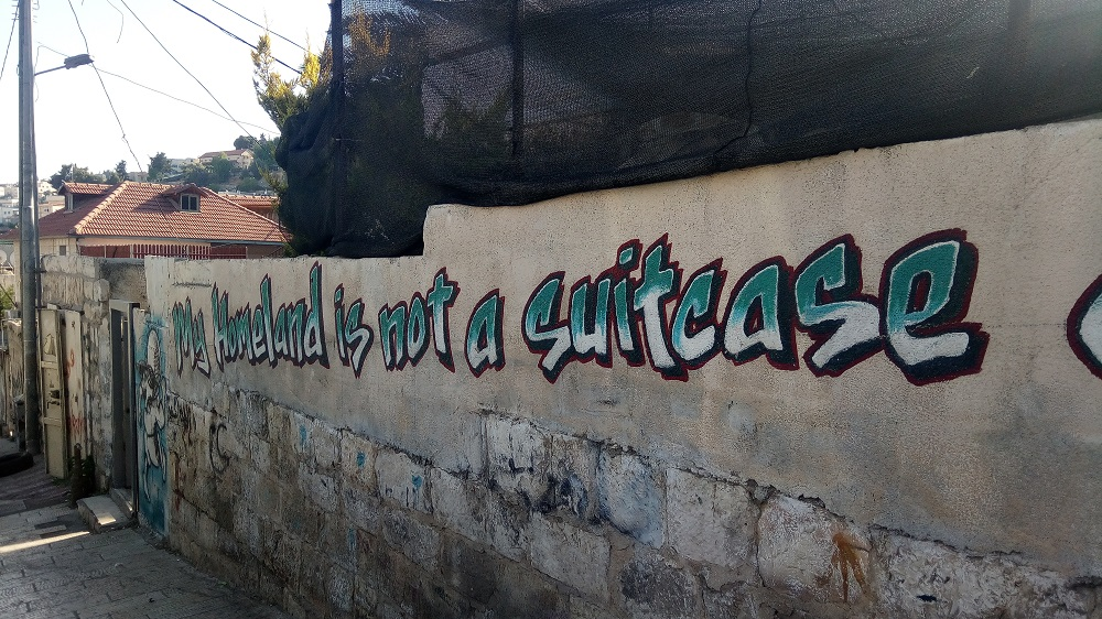 Graffiti in Silwan