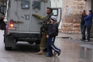 Kinderverhaftung in Hebron