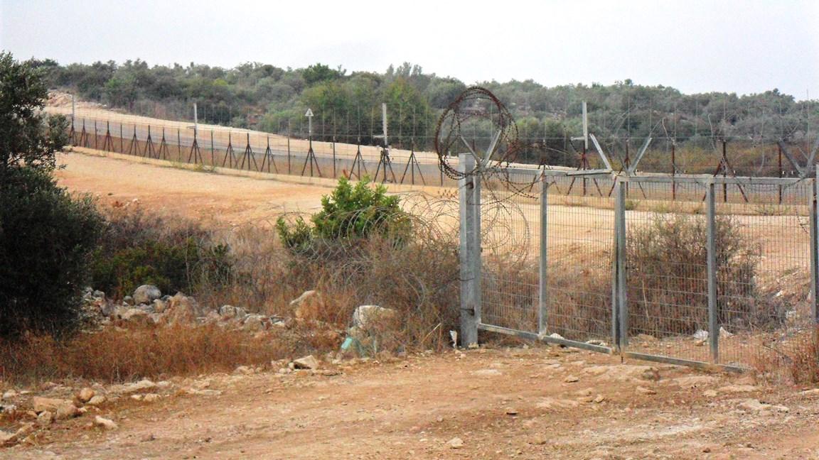 """""""Agricultural gate"""" in Zeita, nördlich von Tulkarem; Foto © EAPPI"""