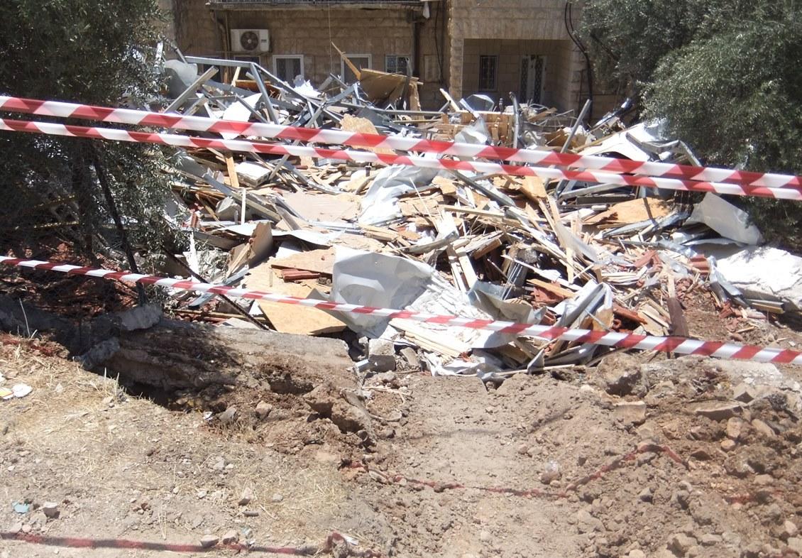 Trümmer in Beit Hanina, Foto EAPPI