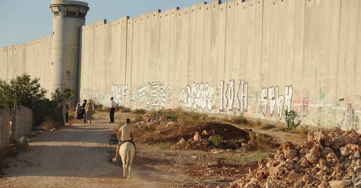 Die Mauer in Betlehem