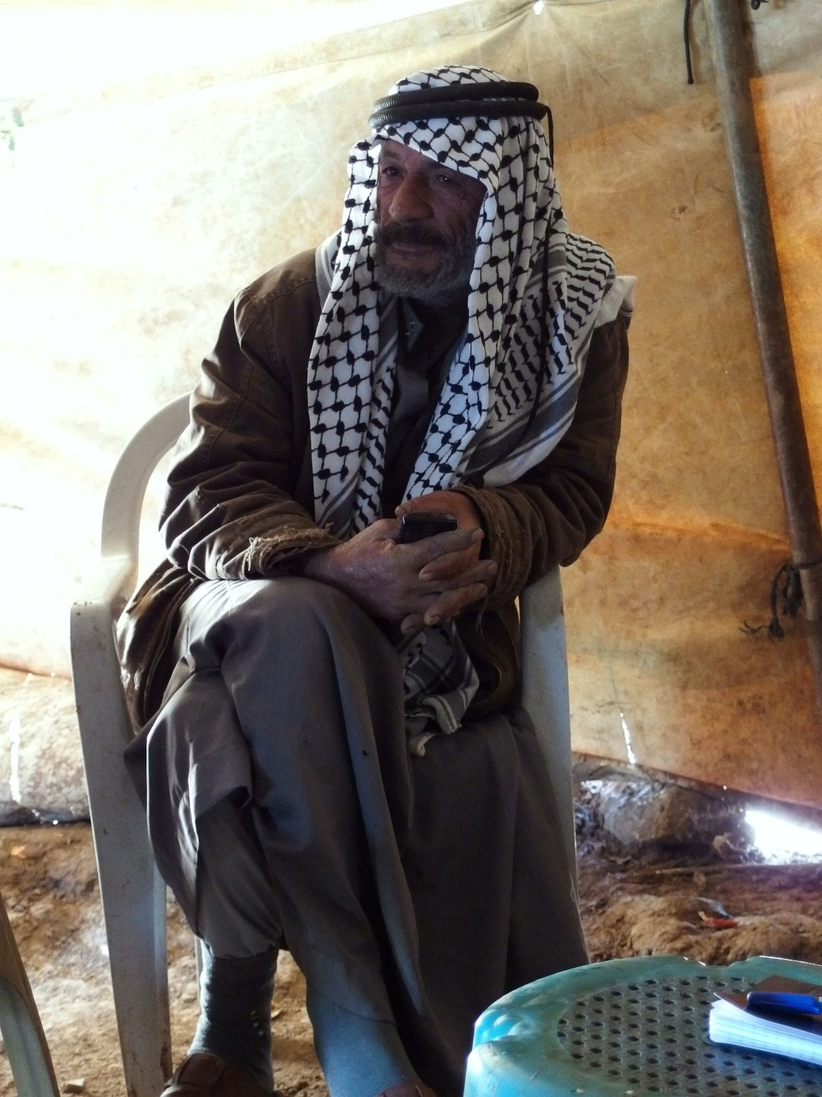 Der Beduine Abu Saker