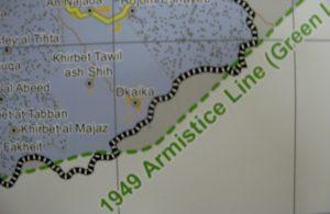 Dkaika - Karte UNOCHA-OPT