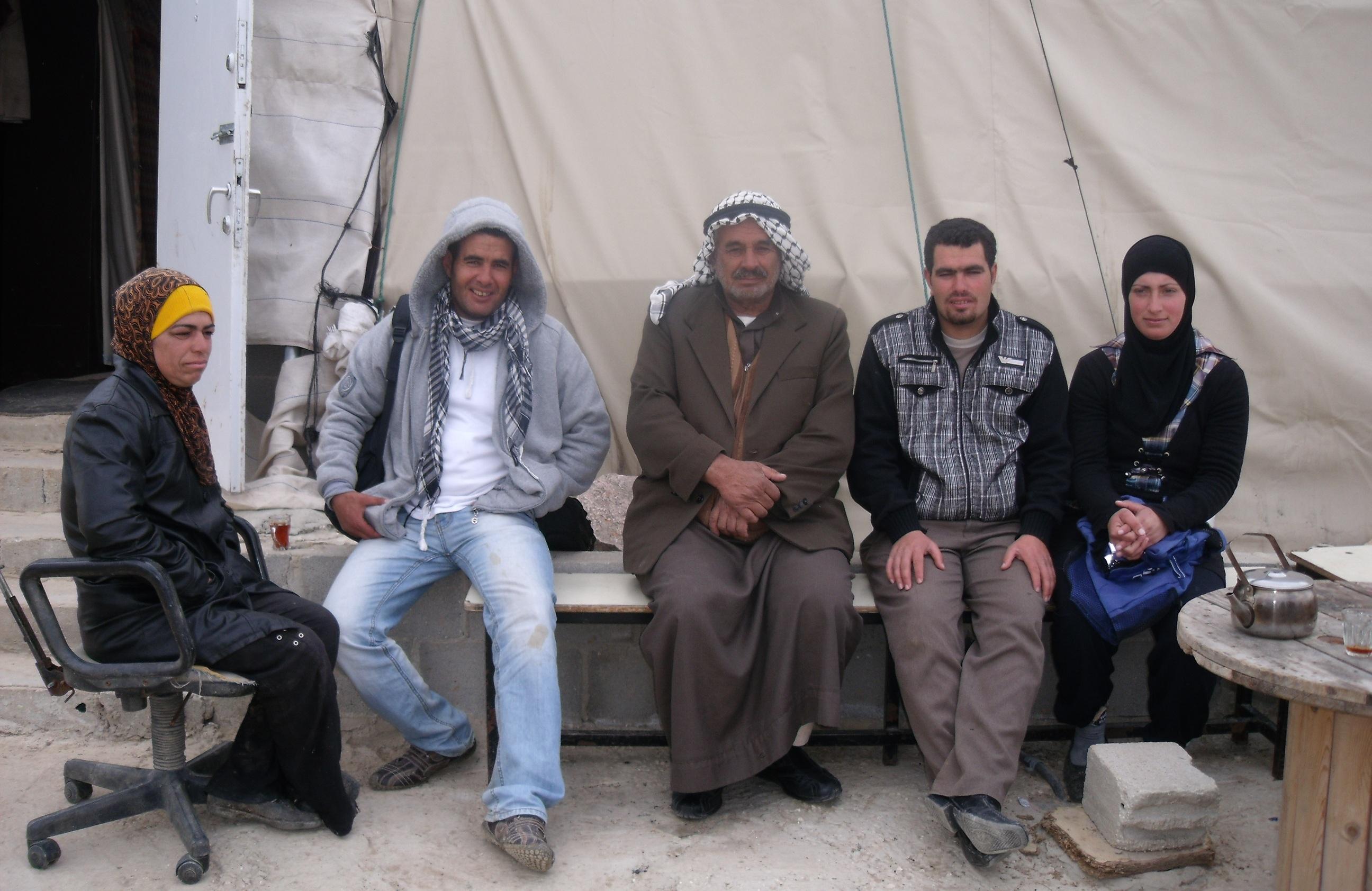 Familie Nawaja in Susya