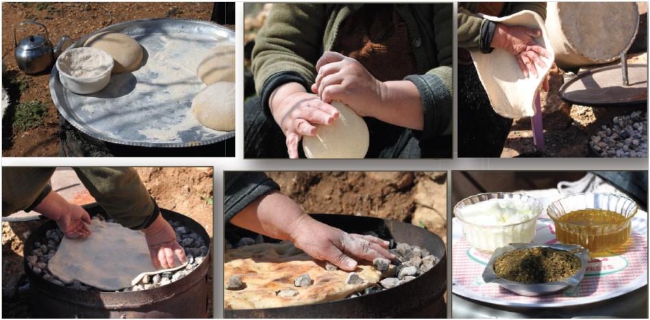 Frauen auf dem Land - Brotbacken