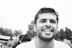 George Zaydan nach einem erfolgreichen Lauf (Foto Elias Halabi)