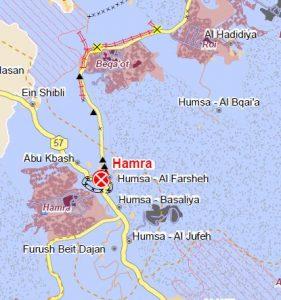 Die Gemeinde Humsa im Jordantal ist von Siedlungen und militärischem Sperrgebiet umschlossen; © UNOCHA-OPT