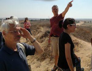 Mit Eric an der Grenze zu Sderot