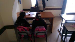 Schülerinnen in der Grundschule von Ibziq © EAPPI