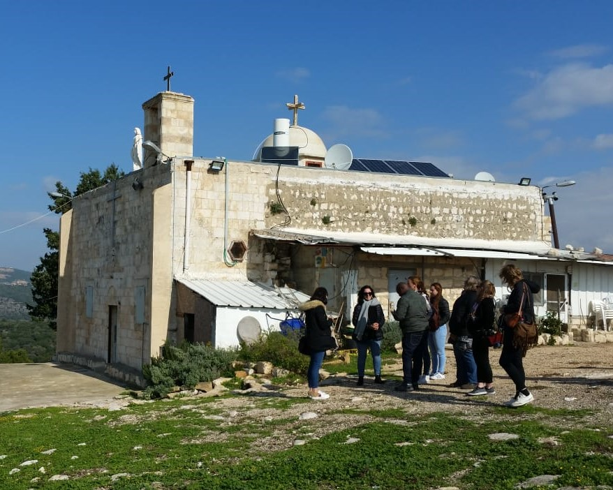 Die Kirche von Iqrit; © EAPPI