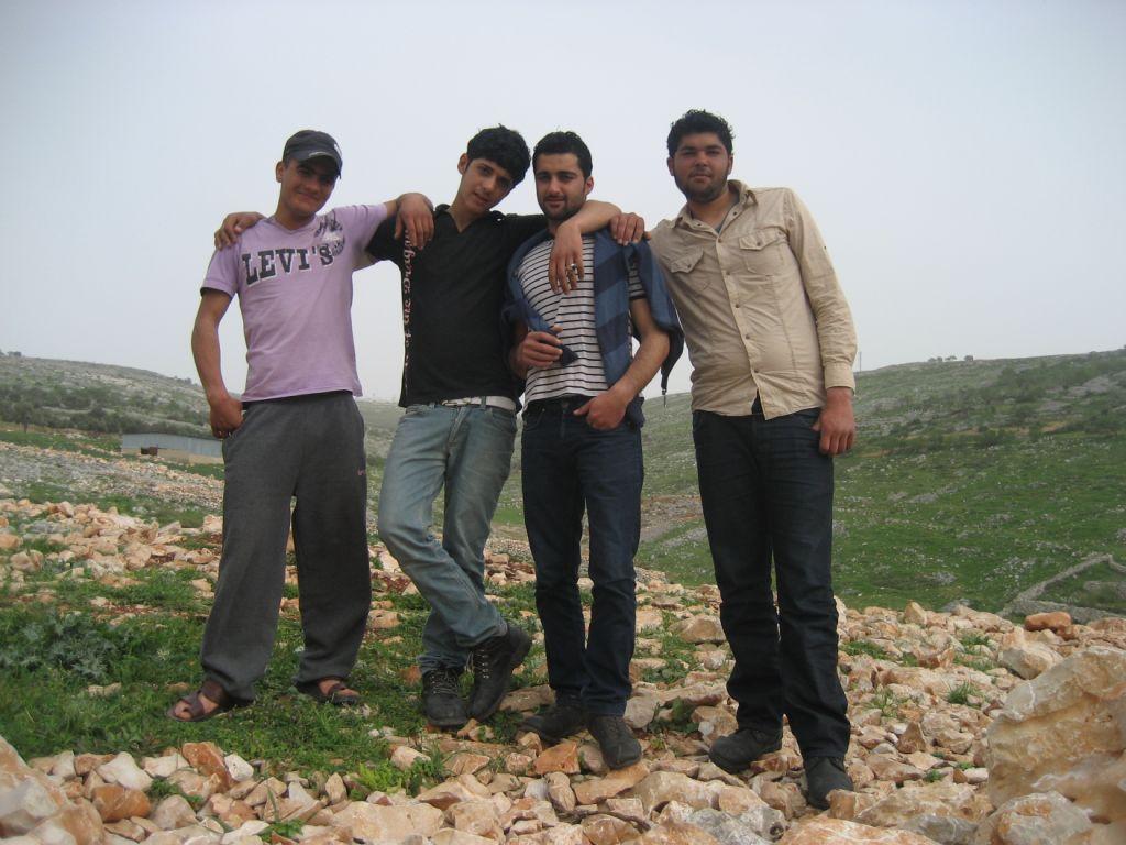 Jugendliche in Iraq Burin