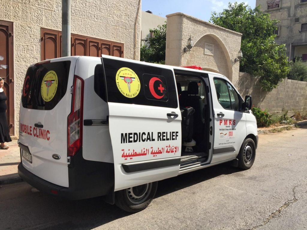 Transportfahrzeug der Mobile Clinic (Photo: EAPPI)