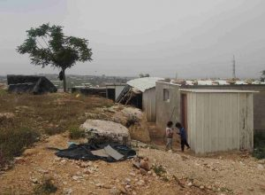 Beduinengemeinde in der seam-zone; © EAPPI