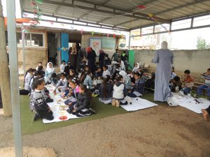 In der Grundschule von Arab ar Ramadin al Janoubi; © EAPPI