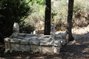 Gräber des muslimischen Friedhofs in Ma'Alul; Foto @EAPPI