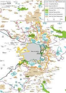 Karte © Emek Shaveh (zum Vergrößern klicken)
