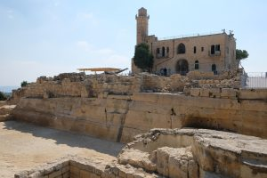Grabungsstätte statt Wohnort – die Bewohner mussten das historische Dorf Nabi Samwil räumen. Foto © EAPPI