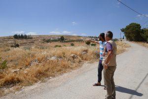 Ökumenischer Begleiter im Gespräch mit Anas Dirawi