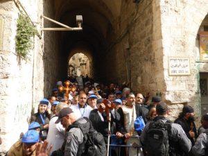 Zugangsbeschränkungen für Christ*innen in der Altstadt von Jerusalem