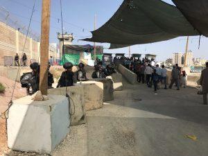 Zugang für die Männer am Qalandia Checkpoint; Foto © EAPPI