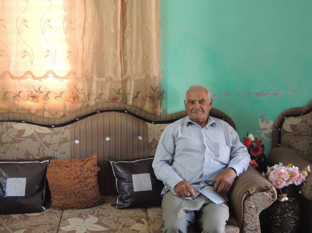 Abu Omar in seinem Haus in Shufa; © EAPPI