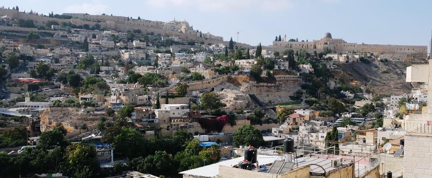 """Zu viele Häuser, zu wenig Geschichte? Teile von Silwan sollen der """"City of David"""" weichen. Foto © EAPPI"""