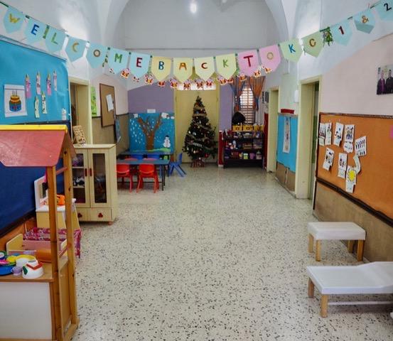Kindergarten der anglikanischen Gemeinde in Nablus; © EAPPI