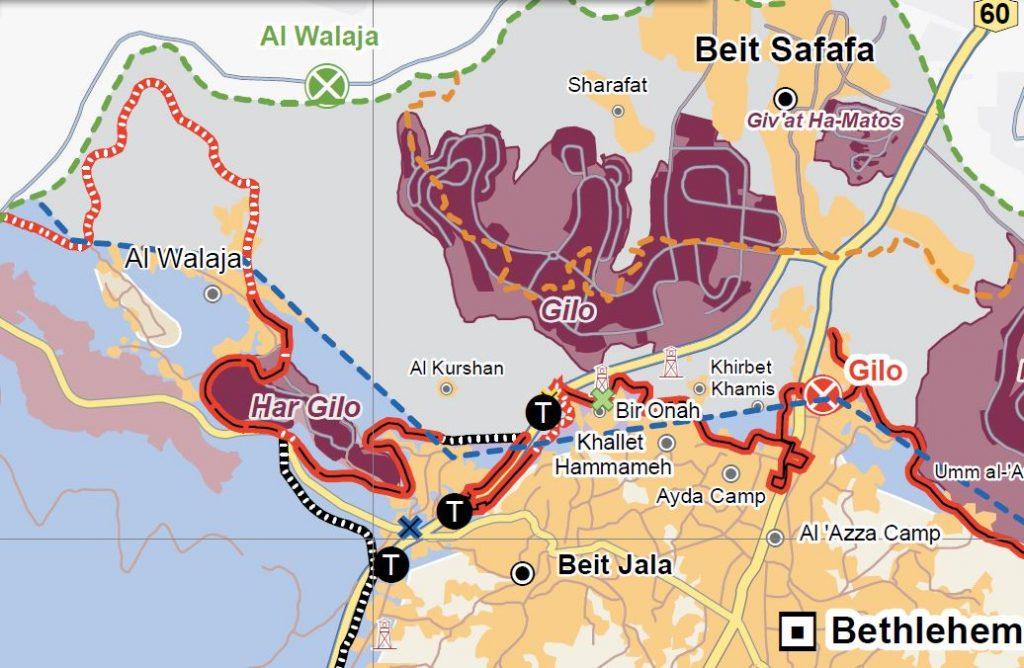 Karte UNOCHA