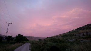 Der Weg von Lower Yanoun nach Upper Yanoun © EAPPI