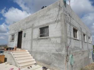 Von Zerstörung bedrohtes Haus