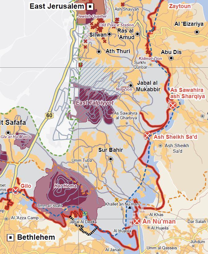 An Nu'man - Karte UNOCHA